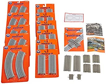 Lionel Trains Deluxe FasTrack Layout 2