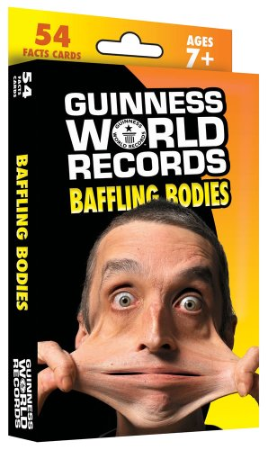 Guinness World Records® Baffling Bodies Learning Cards - 1