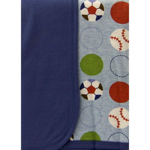Play Ball Knit Blanket - 1
