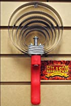 F241 Hilason Horse Tack Reversible Curry Comb With Red Plastic Handle 6 Blades