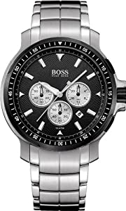 Ebel Men's 9305F71/5335145GS Classic Hexagon Chronograph Black Chronograph Dial Watch