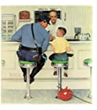 Norman Rockwell The Runaway 1958 Art Print - 8 in x 9 in - Unmatted, Unframed