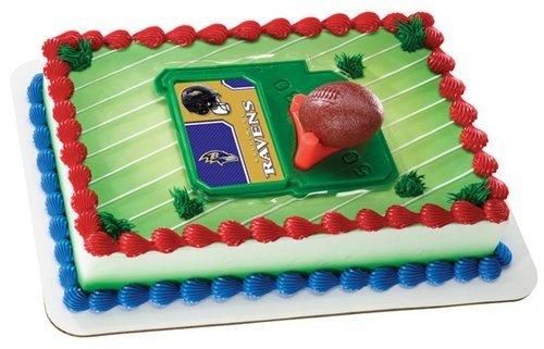 Raven Football Cake Football Tee Cake Topper