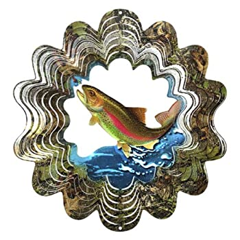 We are proud to present the Iron Stop MOD100-10 25cm Mossy Oak Trout Windspinner