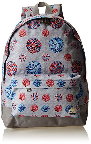 roxy-womens-sugar-baby-school-backpack-grey-size-one-size