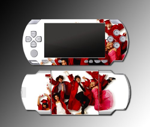 Gamerz Skinz High School Musical Get Picture Game Decal Cover Skin For Sony Psp 1000 Playstation Portable