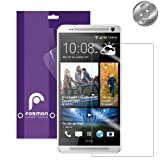 Fosmon Crystal Clear Screen Protector for 2014 HTC One (M8) - Retail Packaging (3 Pack) by Fosmon Technology
