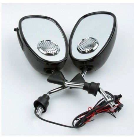 Fdl Motorcycle Audio Mp3 Player Fm Radio Speaker Rear-View Mirrors