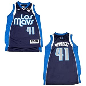 LIMITED EDITION: NBA DALLAS MAVERICKS NOWITZKI #41 Youth Athletic Jersey Top with... by NBA