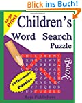 Children's Word Search Puzzle Book