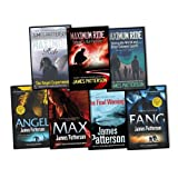 James Patterson James Patterson Maximum Ride 7 Books Collection Pack Set RRP: £59.44 (School's Out Forever, The Angel Experiment, Saving the World and Other Extreme Sports, : The Final Warning, : Max, Fang. James Patterson, Angel)