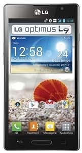 LG Optimus L9 Smartphone débloqué Monobloc tactile Bluetooth / Appareil photo / WiFi Noir