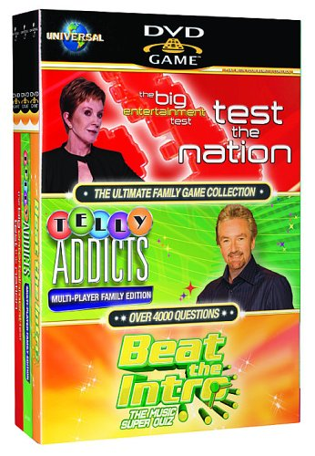The Ultimate Family Game Collection - Test The Nation/Telly Addicts/Beat The Intro [Interactive DVD]