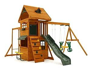 Amazon.com: Big Backyard F270855 Ridgeview Clubhouse ...