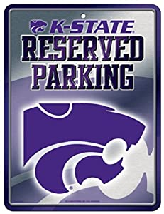 NCAA Kansas State Wildcats Parking Sign