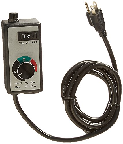 TruePower 123 Variable Dial Router Speed Controller for Duct and Inline Fans (Variable Speed Fan Dial compare prices)