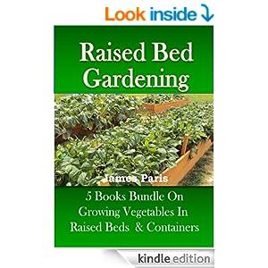 raised bed gardening 5 books bundle on growing