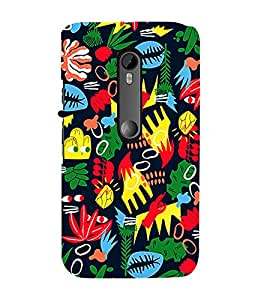 Ebby Premium Printed Mobile Back Case Cover With Full protection For Moto X Style (Designer Case)