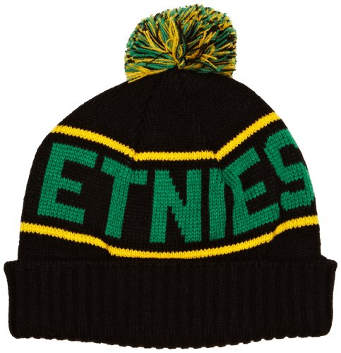 Etnies Steppen Beanie - Black Green - One Size