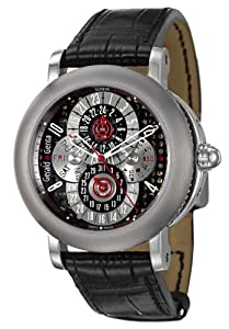 Gerald Genta Arena PC GMT Men's Automatic Watch AQG-Y-66-915-CN-BD