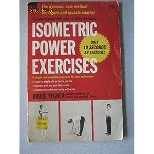 Isometric Power Exercises  - Bruce Tegner