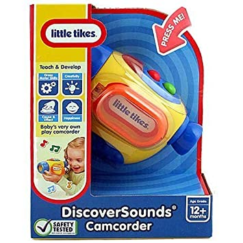 Little Tikes Discover Sounds Camcorder Toy by Little Tikes (English Manual)