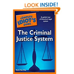 Funny product The Complete Idiot's Guide to the Criminal Justice System