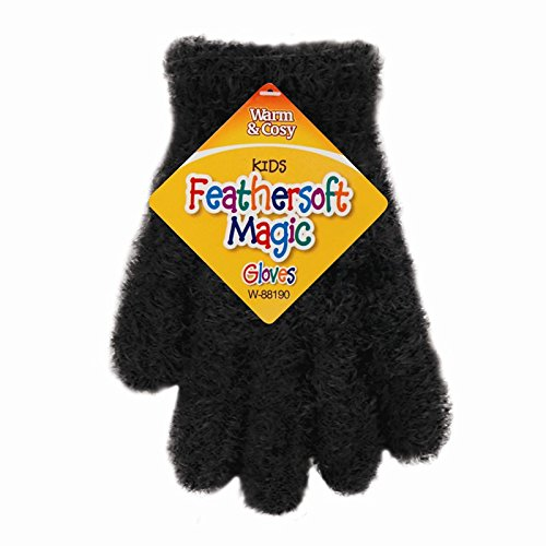 5starwarehouse-Kids-Feather-Magic-Gloves-Boys-Girls-Winter-Clothing-Thermal-Stretchable-Neon-UK