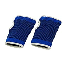 Waterwood Water & Wood 1 Pair Blue Sport Elastic Palm Guard Support Protector