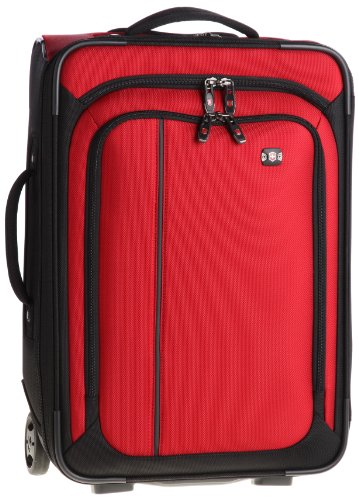 Victorinox Luggage Werks Traveler 4.0 Ultra-Light Carry-On Bag, Red, 20