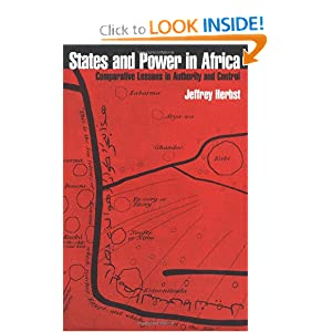 States and Power in Africa Jeffrey Ira Herbst