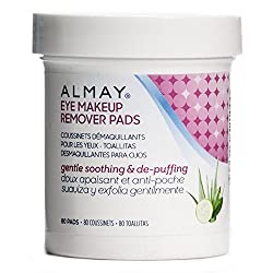 Almay Soothing & De-puffing Gentle Eye Make Remover Pads 2 Pack