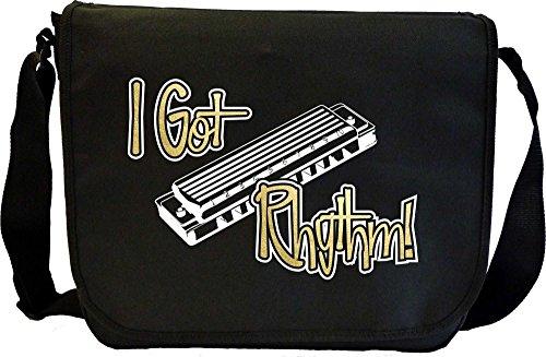 Harmonica-I-Got-Rhythm-Sheet-Music-Document-Bag-Musik-Notentasche-MusicaliTee