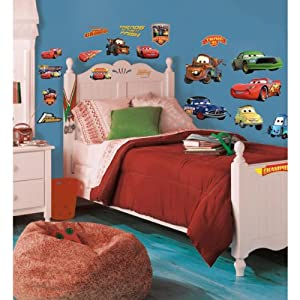 Roommates Rmk1520Scs Disney Pixar Cars Piston Cup Champs Peel & Stick Wall Decal by RoomMates