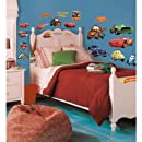 Roommates Rmk1520Scs Disney Pixar Cars Piston Cup Champs Peel & Stick Wall Decal