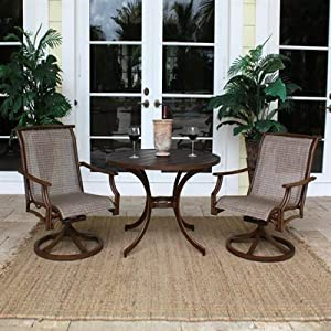 chub cay patio dining group outdoor bistro set by
