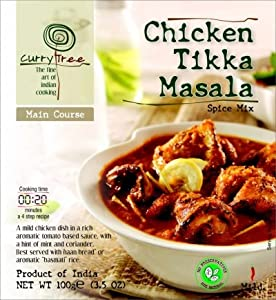 Curry Tree - Chicken Tikka Masala Spice Mix. Product of India
