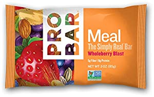 Probar Meal: The Real Whole Food Bar, Whole Berry Blast, 3 Ounces (12 Count)