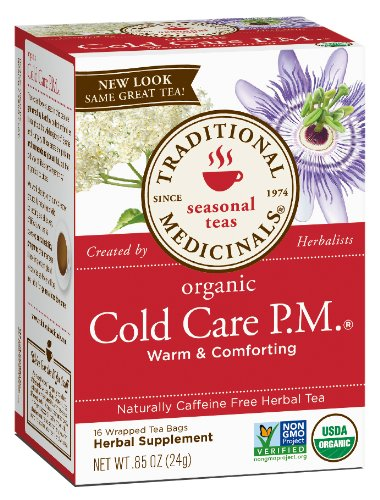 Cold & Flu-Cold Care P.M. Traditional Medicinals 16 Bag