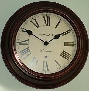 Newgate Large Panama Oak Wall Clock Kitchen Home