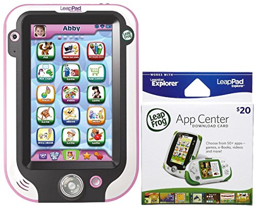 Leapfrog Leappad Ultra - Pink With $20 App Center Card front-923591