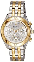 Titan Octane Analog Silver Dial Men's Watch-9324BM01