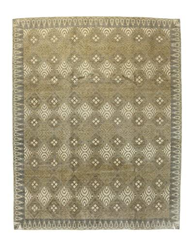 Bashian Rugs Hand Knotted Manali, Beige, 7' 10 x 10' 2