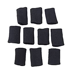 Generic Finger Sleeve Support Protection Volleyball Basketball