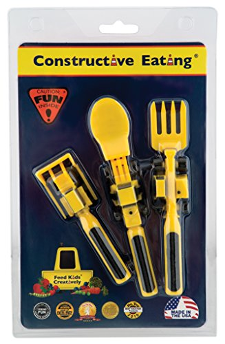 Constructive Eating \u2013 Construction Combo with Utensil Set Plate ...  sc 1 st  Plush Station & Constructive Eating - Construction Combo with Utensil Set Plate ...