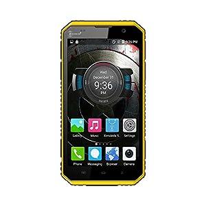 Kenxinda W9 IP68 Outdoor 4G Smartphone -Waterproof Dustproof Shockproof Rugged Drfy Android 5.1 OS Octa Core MTK6753 6.0