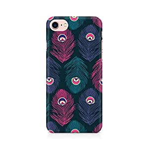 NXT GEN Peacock Fethers Premium Printed Mobile Back Case Cover For Apple iPhone 7