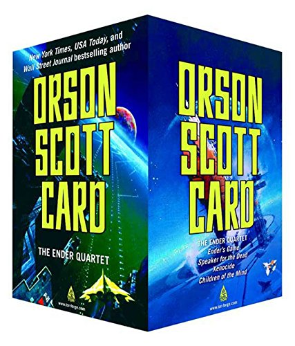 The Ender Quartet Boxed Set: Ender's Game, Speaker for the Dead, Xenocide, Children of the Mind (The Ender Quintet) (Ender Game Series compare prices)