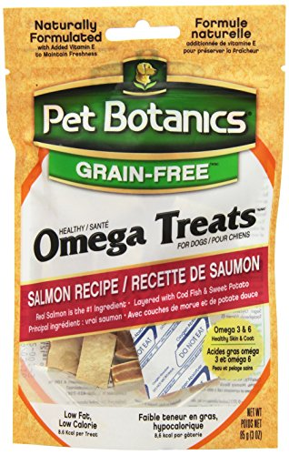 Pet Botanics Healthy Omega Treats for Dogs, Salmon, 3 oz.