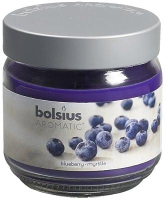 Ivyline Bolsius 100 X 98 Mm Scented Glass Jar Blue Berry by Ivyline